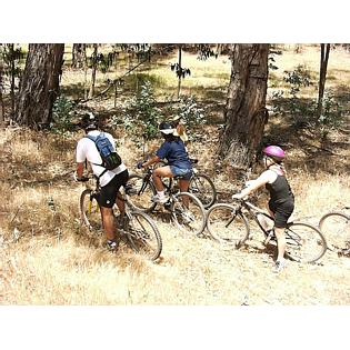 teaching children it's okay to ride off-trail